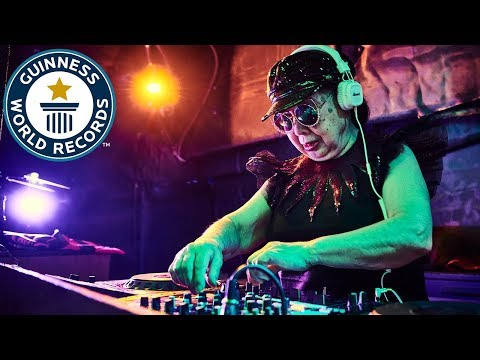 Unbelievable! 88-year-old female DJ wins Guinness World Record title