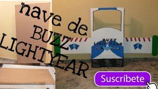 Buzz Lightyear / Nave Con Una Caja De Cartón.🖌✂️✂️🖌