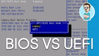 Difference Between BIOS and UEFI