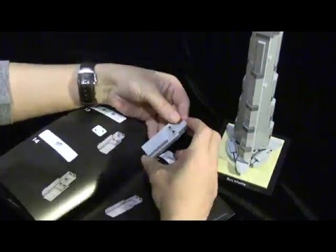 Vidéo LEGO Architecture 21031 : Burj Khalifa