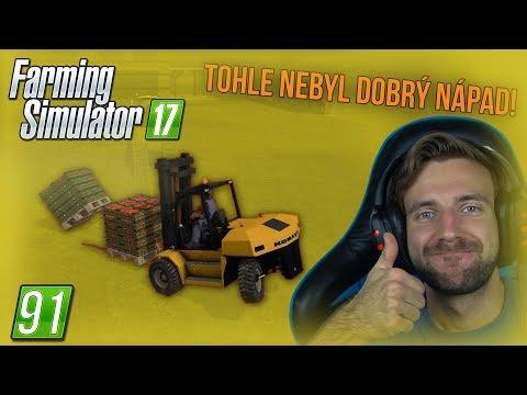 TOHLE NEBYL DOBRÝ NÁPAD! | Farming Simulator 17 #91