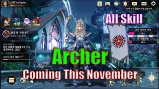 Darkness Rises Archer Class Coming This November & All Skill