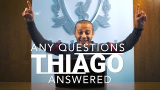 Any Questions Answered: Thiago Alcantara | Beatles songs, Gerrard or Alonso & funniest teammate