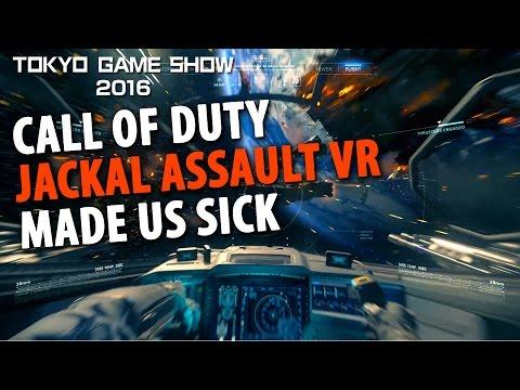 Call of Duty Jackal Assault VR Made Us Sick thumbnail