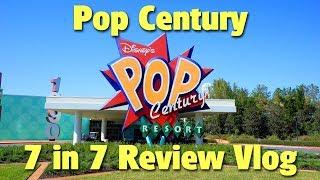 Disney's Pop Century Resort   7 in 7 Vlog Review
