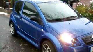 preview picture of video 'Citroen C2 Musketier Tuning'