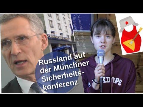 Russland auf der Münchner Sicherheitskonferenz [Video]