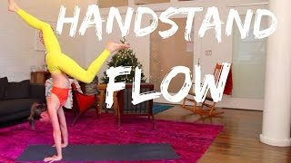 Handstand Yoga Flow by TaraStiles