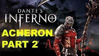 Let's Play Dante's Inferno Ep 4 (Acheron Part 2)