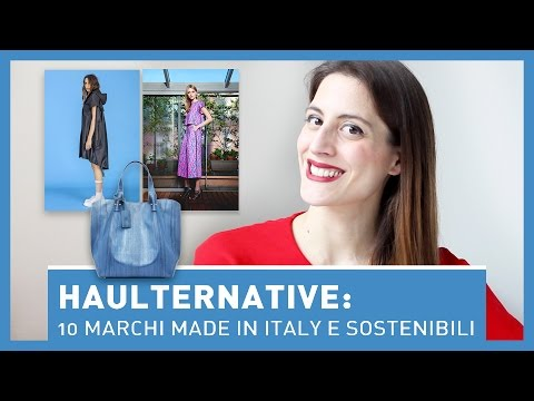 HAULTERNATIVE: 10 MARCHI MADE IN ITALY - Moda sostenibile