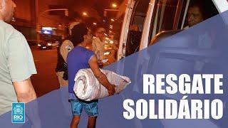 Projeto Resgate Solidário acolhe pessoas em situação de rua em Copacabana