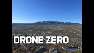 Drone Flight over Taos New Mexico