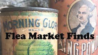 Season Opener - Flea Market Finds!