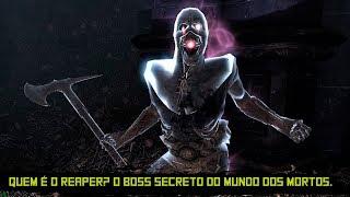 Skyrim (Boss secreto) - Quem é Reaper? O Daedra da morte!