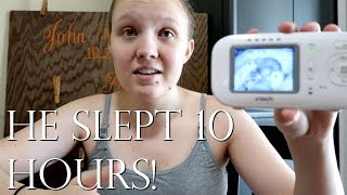 SLEEP TRAINING UPDATE│DITL OF A STAY AT HOME MOM