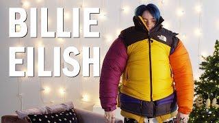 Billie Eilish Attempts the Puffer Jacket Challenge — Open Up