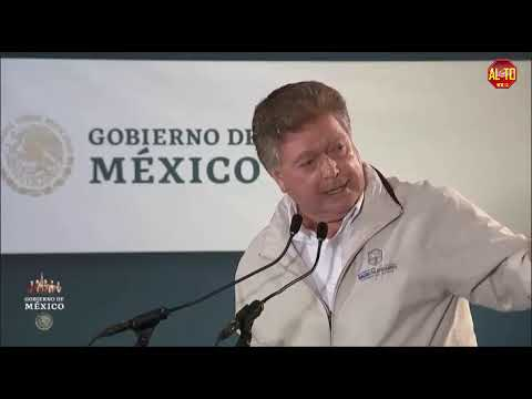 Así lo dijo Kiko Vega frente a AMLO en San Quintín