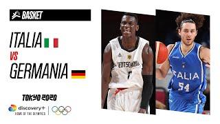 ITALIA vs GERMANIA | Basket - Highlights | Giochi olimpici - Tokyo 2020