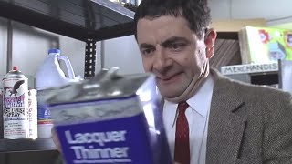 Bean's Fix up | Funny Clips | Mr Bean Official