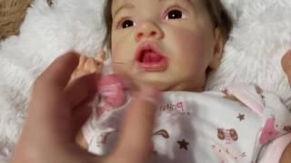 Обзор на куклу реборн из молда Saskia by Bonnie Brown