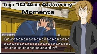 Top 10 Ace Attorney Moments - Turnabout Robin