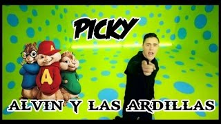 Joey Montana - Picky Version Alvin y las ardillas + Letra