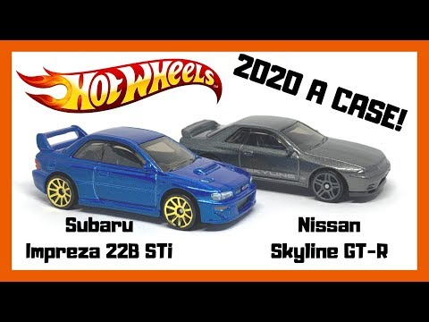 Hot Wheels 2020 A CASE '98 Subaru Impreza & Nissan Skyline