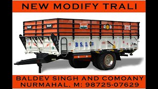 🔴New Modify Trali 🔴 Baldev Singh and Company 🔴 Nurmahal🔴 Best Trali Manufacturer in Nurmahal🔴