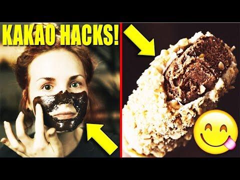 6 Geniale Dinge mit KAKAOPULVER!