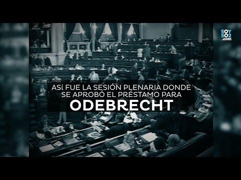 Así aprobó el Congreso el contrato con Odebrecht