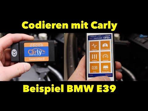 Codieren mit Carly Beispiel Blinker BMW E39 // Kodieren mit Carly