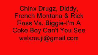 Diddy, French Montana & Rick Ross Vs. Biggie-I'm A Coke Boy Can't You See (DJ Srouji Remix)
