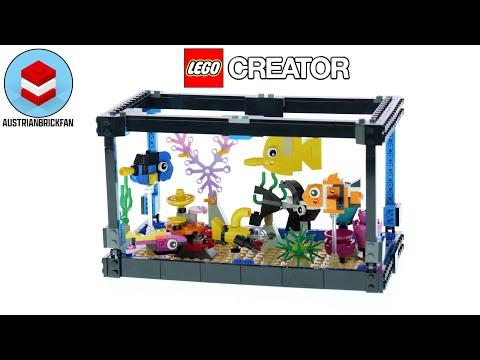 Vidéo LEGO Creator 31122 : L'aquarium