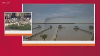 Viewer video: Time lapse of of KMCO chemical plant explosion in Crosby