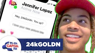 Jennifer Lopez Slid Into 24k Goldn's DM's | Interview | Capital