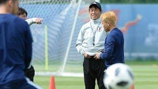 日本代表活動日記6/15西野朗監督「いい形でこちらに入れたので雰囲気はいい。さらにいい準備をしたい」