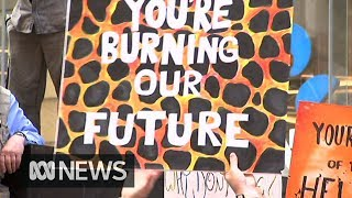 Students strike to demand climate action | ABC News