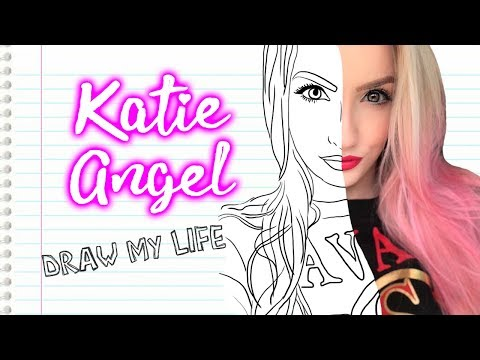 Download DRAW MY LIFE! 🌸 *MI VIDA EN DIBUJOS!* | Katie Angel HD Mp4 3GP Video and MP3
