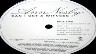 "Ann Nesby -  ""Can I Get A Witness""  (Mousse T 's Funk 2000 Mix)"
