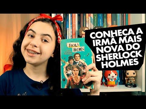 Livro Enola Holmes - O caso do marquês desaparecido