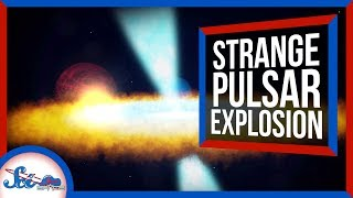 We've Never Seen a Pulsar Explode Like This | SciShow News by SciShow Space