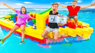 LAST TO LEAVE LEGO YACHT WINS $10,000