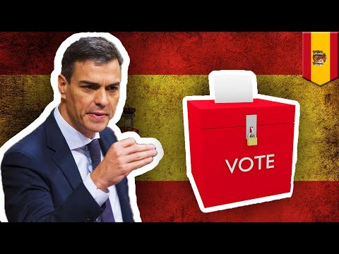 Фото Spain may have 3rd election after budget rejected - TomoNews