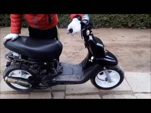Mbk booster 70cc daily upgrade