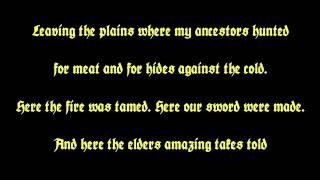"""BATHORY - """"Gods of Thunder, of Wind and of Rain"""" [Lyric Video]"""