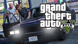 GTA V - How To Successfully Rob a Convenience Store in Grand Theft Auto V (GTA 5)