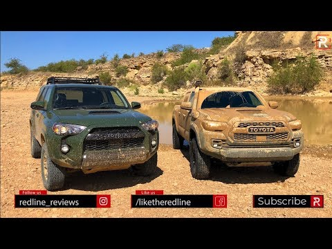 Which 2020 Toyota TRD Pro is The Off-Road King the 4Runner or Tacoma?