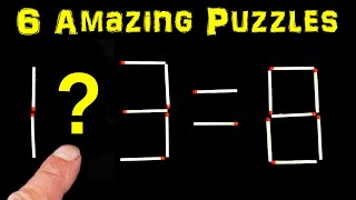 Can You Work Out These Matchstick Puzzles thumbnail