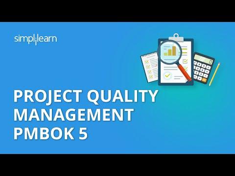 Project Quality Management PMBOK 5 | PMP® Training Videos ...