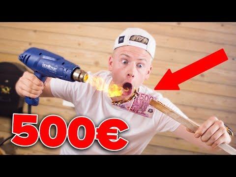 500€ SCHEIN vs. HEIßLUFTPISTOLE ! 😱 II RayFox